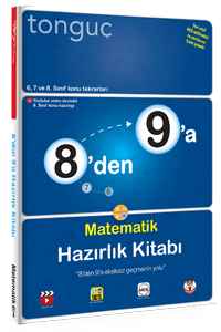 8'den 9'a Matematik Hazırlık Kitabı