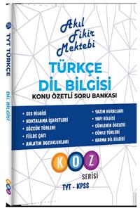 AFM Türkçe Dil Bilgisi Konu Özetli Soru Bankası