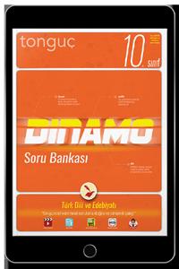 10. Sınıf Dinamo Türk Dili ve Edebiyatı Soru Bankası (Dijital Ürün)