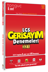 LGS Geri Sayım Denemeleri 321