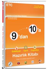 9'dan 10'a Edebiyat Tarih Coğrafya Hazırlık Kitabı