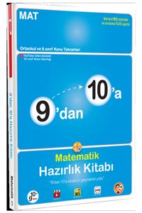 9'dan 10'a Matematik Hazırlık Kitabı