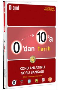 0'dan 10'a Tarih Konu Anlatımlı Soru Bankası