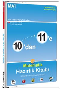 10'dan 11'e Matematik Hazırlık Kitabı