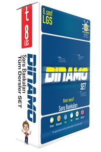8. Sınıf Dinamo Tüm Dersler Soru Bankası Set